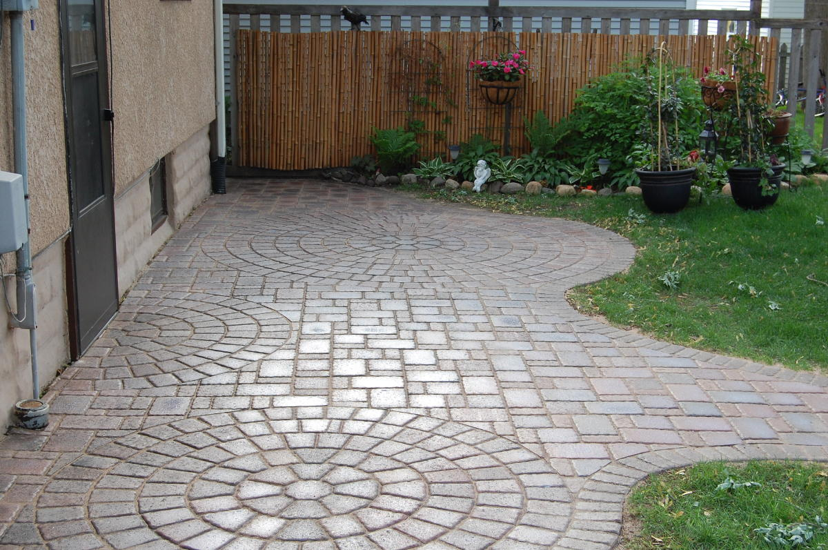 Paver Patio Areas