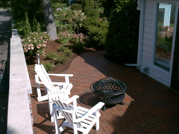 Paver Patio And Steps Using Pine Hall Brick Clay Pavers